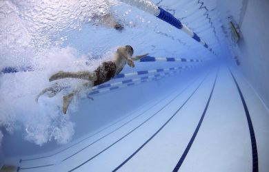 Simning kan lätt orsaka kramp